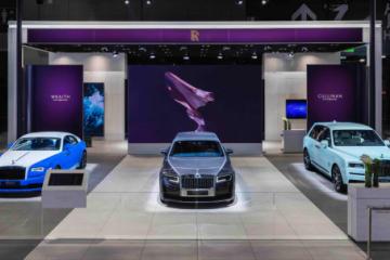诠释Bespoke高级定制造诣 劳斯莱斯汽车携全球首发车型隆重亮相2021上海国际汽车工业展览会