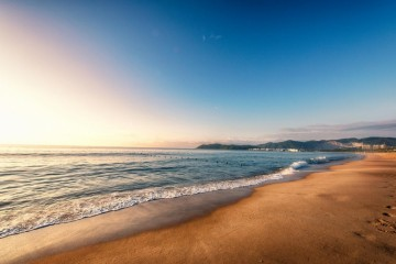 打卡一个秋天,海边浪漫拿来吧你